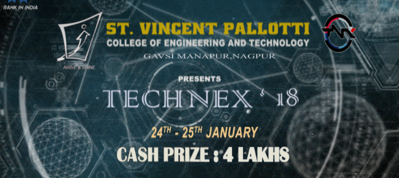 Technex 2018 - Technical Fest in Nagpur from January 24-25, 2018