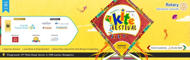 Bengaluru Kite Festival on January 21, 2018