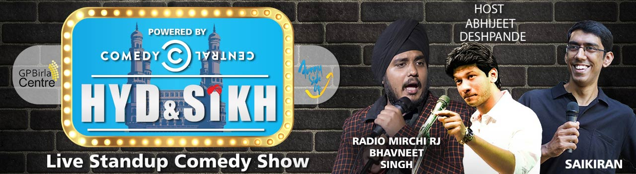 HYD and Sikh - A Stand-Up Comedy Show in Hyderabad on February 3, 2018