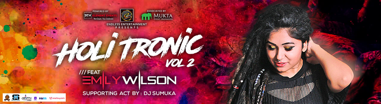 Holi - Tronic Vol 2 in Hyderabad on March 2, 2018