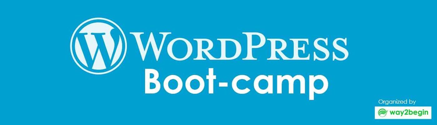 WordPress BootCamp in Hyderabad on May 13, 2018