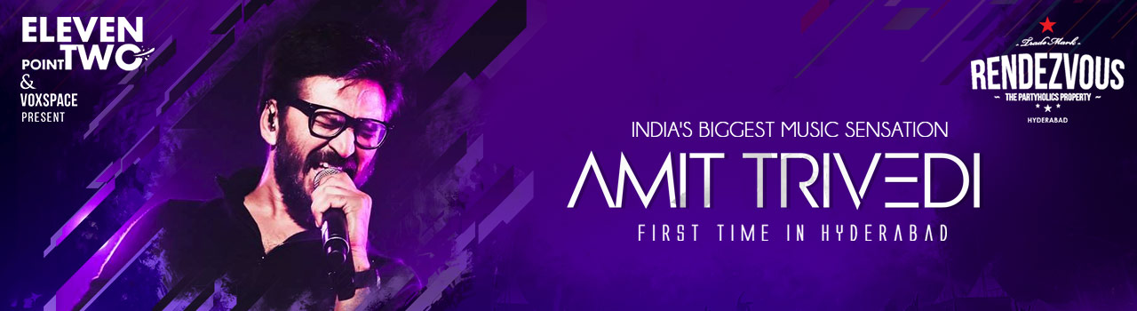 Amit Trivedi Live in Hyderabad on August 25, 2018