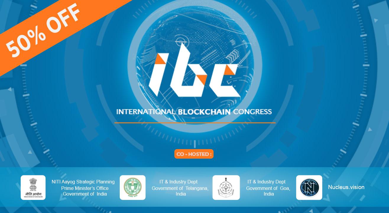 International Blockchain Congress in Hyderabad