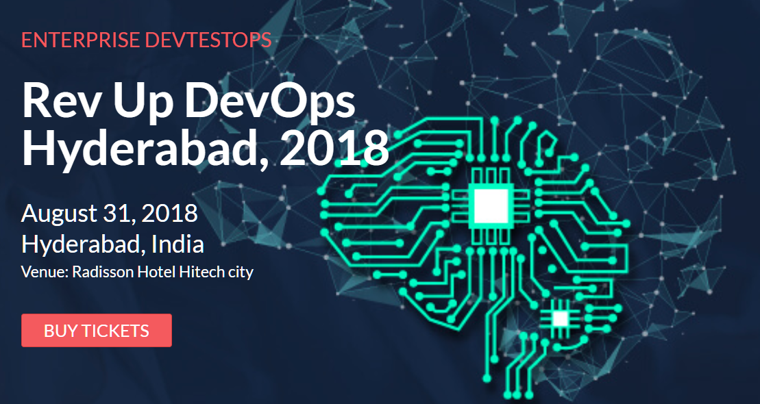 Rev Up DevOps in Hyderabad on August 31, 2018