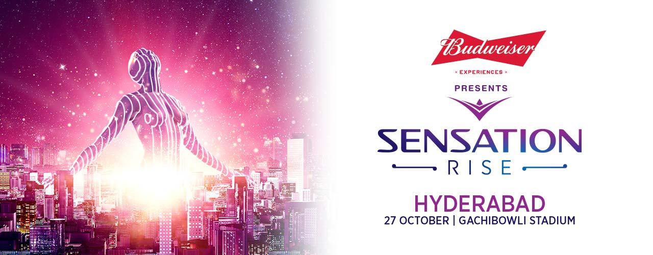 Sensation Rise 2018 in Hyderabad on October 27, 2018