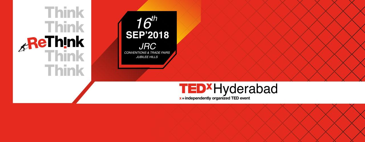 TEDxHyderabad 2018 on September 16, 2018