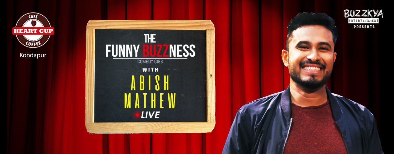 Abish Mathew Live in Hyderabad