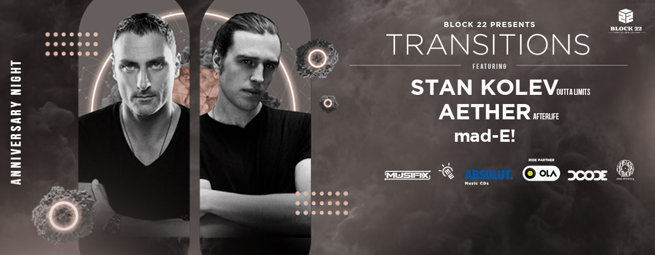 Block 22 Presents Feat. Stan Kolev & Aether in Hyderabad