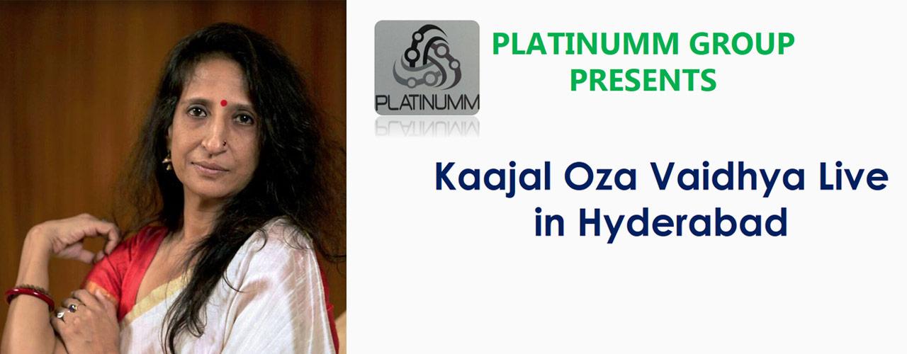 Kaajal Oza Vaidhya Live in Hyderabad