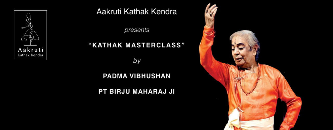 Aakruti Kathak Kendra presents Kathak Masterclass