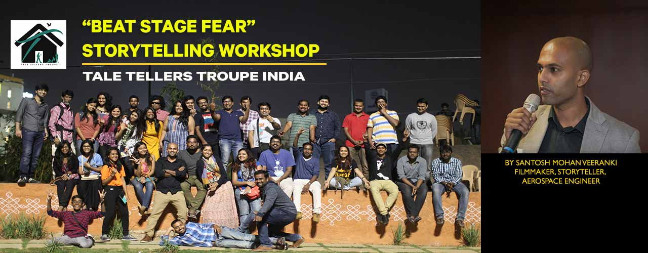Beat Stage Fear - Storytelling Workshop