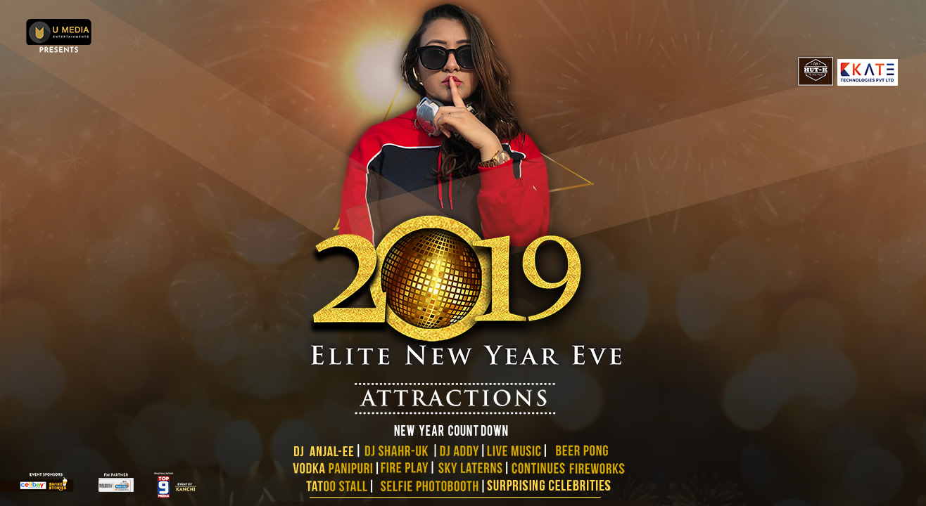 Elite 2019 New Year Eve at Yolo Arena, Hyderabad