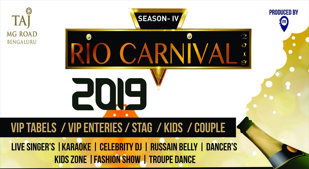 RIO Carnival 2019 - Season 4 NYE 2019 in Bengaluru