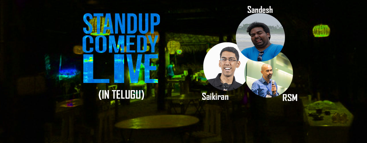 Stand up Comedy Show in Telugu