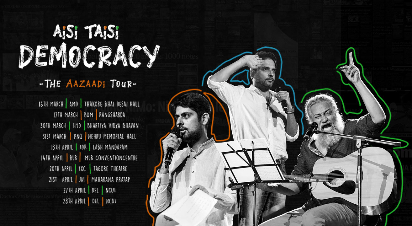 Aisi-Taisi-Democracy-The-Aazaadi-Tour-2019