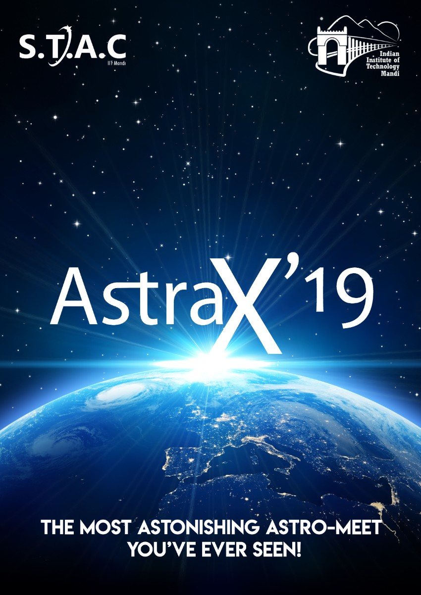 AstraX 2019 - Inter College Astromeet of IIT Mandi