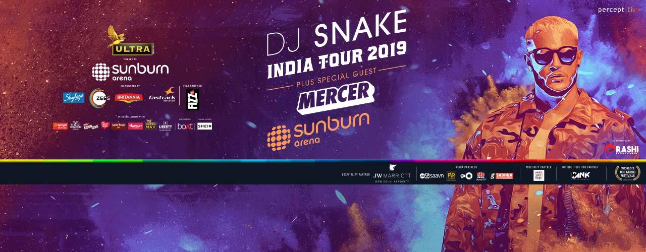 Sunburn Arena with DJ Snake in Bangalore